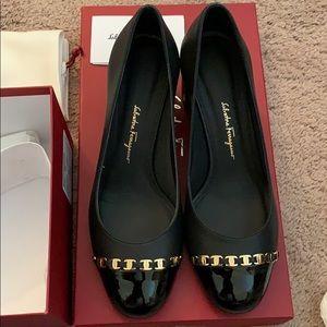 cf1a67c8d76 Salvatore Ferragamo Shoes - Salvatore Ferragamo Avella Pump Black Size 6.5